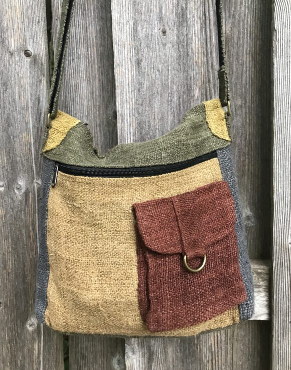 Hemp-Messenger-Bag